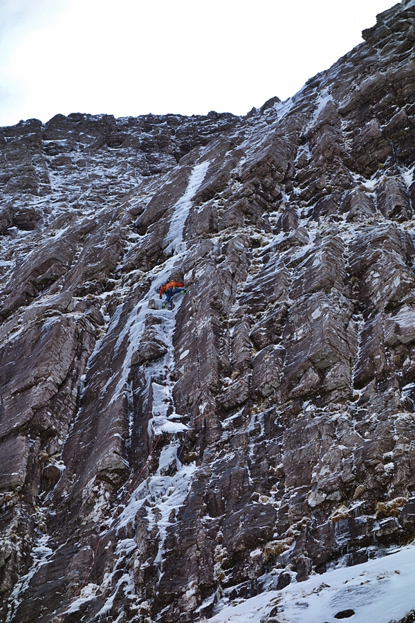 Myself on the first pitch of The Wrecking Light. Credit, Andy Ingles.