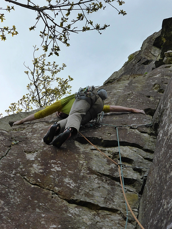 V climb number 4. Venom. Big Tim Albatrossing the technicalities.