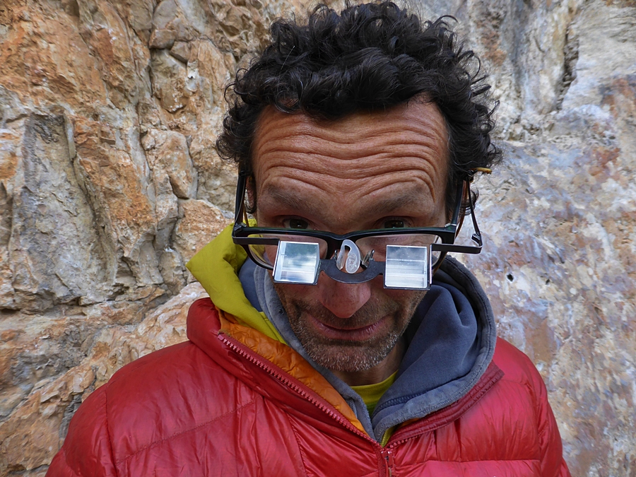 Belay glasses a must for what at times were up to 2hr belay sessions.