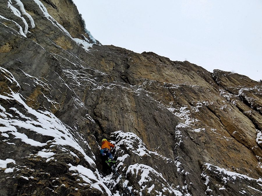 Myself on pitch two. More secure and a lot more fun. Pic credit, Raphael Slawinski.