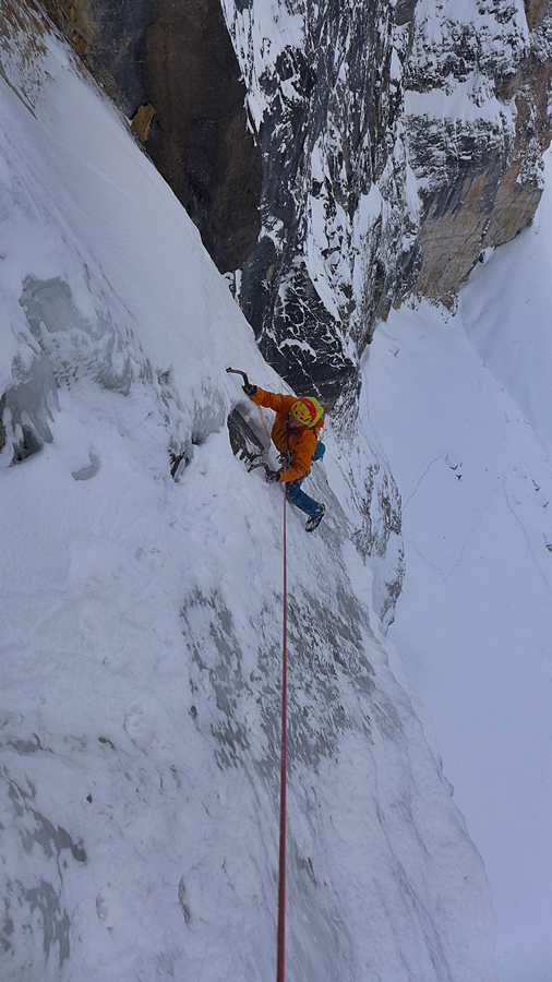 Myself seconding the third pitch. pic credit, Bayard Russell.