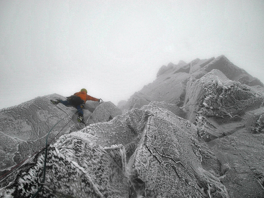 Also me on the second pitch of Arthur. Credit, Matt Helliker.