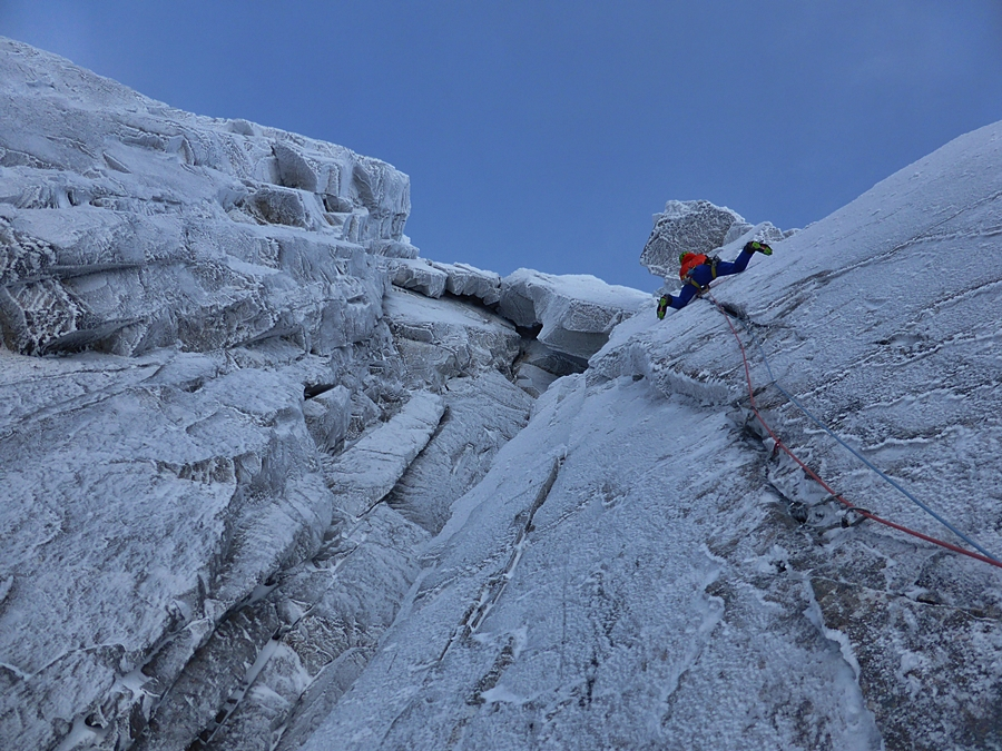 Matt close to completing the second pitch.