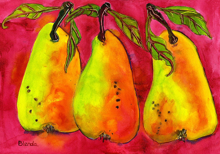 hot-pink-three-pears-blenda-studio