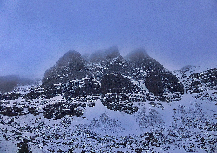 The Triple Buttresses of Beinn Eighe.